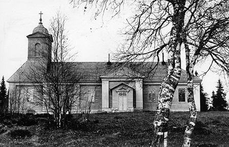 suomussalmen-vanha-kirkko-kuvaaja-luultavasti-kalle-tauriainen
