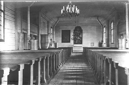 suomussalmen vanha kirkko